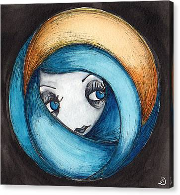 On The Horizon Canvas Print by Darnel Tasker