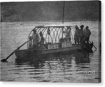 Canvas Print featuring the photograph On The James 2 by Pete Hellmann
