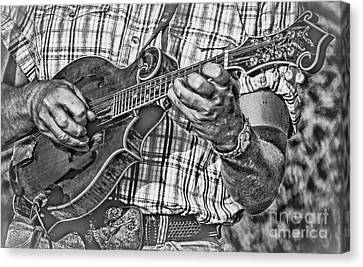 Western Kentucky Canvas Print - On The Mandolin by Robert Frederick