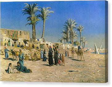 On The Outskirts Of Cairo Canvas Print