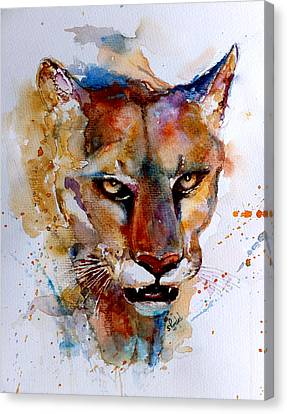 On The Prowl Canvas Print by Steven Ponsford