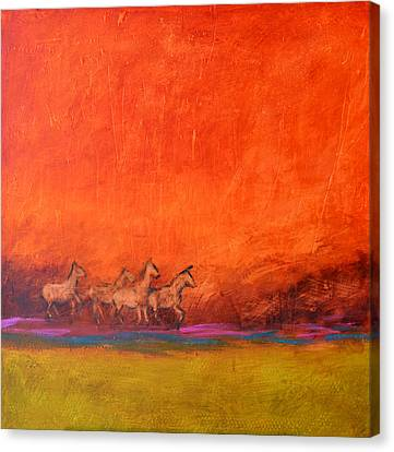 On The Range Canvas Print by Filomena Booth
