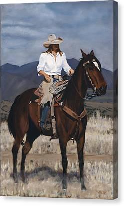 Canvas Print - On The Range by Jack Atkins