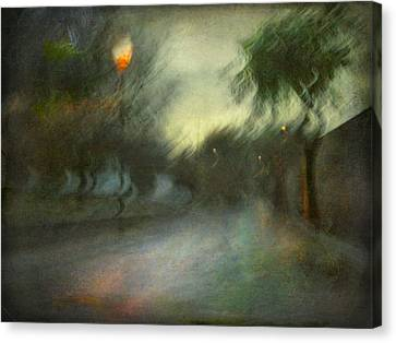 Canvas Print featuring the photograph On The Road #12. Xynthia's Trail by Alfredo Gonzalez
