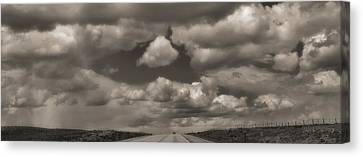 On The Road Again Canvas Print by Dan Sproul