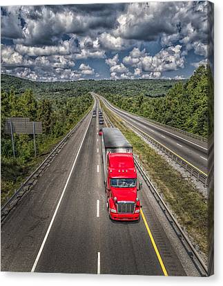 On The Road Again E61 Canvas Print by Wendell Franks