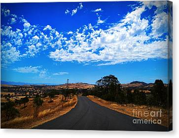 The Road To Nowhere  Canvas Print