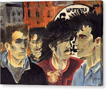 On The Street Canvas Print by Alan Hogan