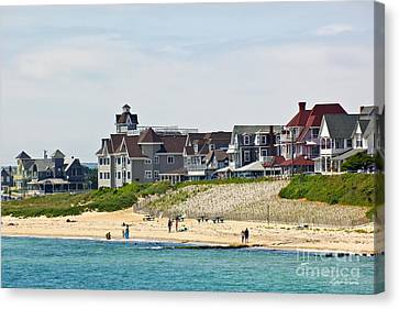 On The Vineyard Canvas Print by Michelle Wiarda