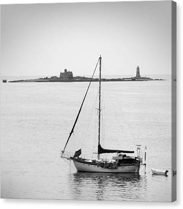 On The Water Canvas Print by Mike McGlothlen