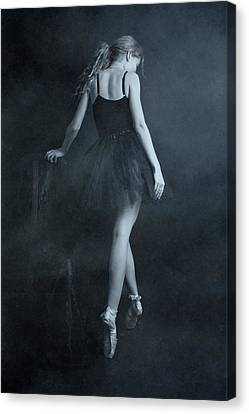 Ballerinas Canvas Print - On Tip Toes by Olga Mest