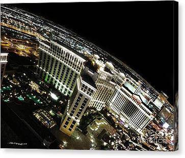 On Top Of Las Vegas Canvas Print