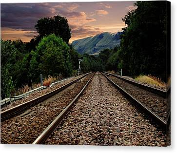 On Track. Canvas Print