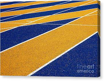 On Track Canvas Print by Ethna Gillespie