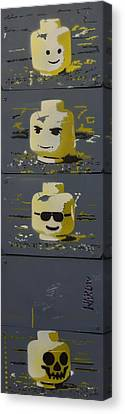 On With Your Head Canvas Print by NAROw