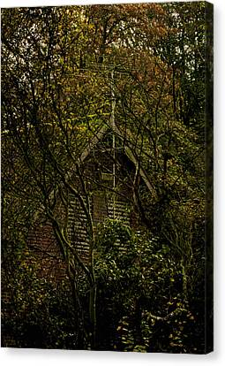 Once A Fortress Canvas Print by Odd Jeppesen