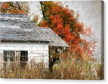 Abandoned House Canvas Print - Once I Laughed by Betty LaRue