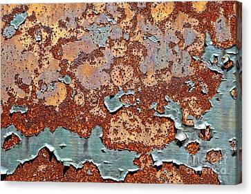 Once Painted Canvas Print by Olivier Le Queinec