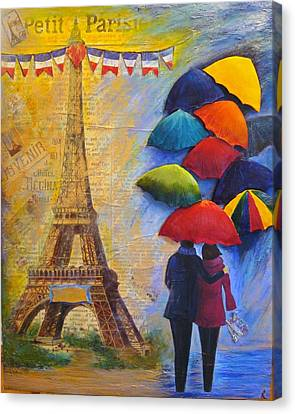 Once Upon A Time In Paris Canvas Print