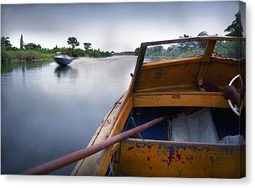 Ondo Riverine Highway Canvas Print