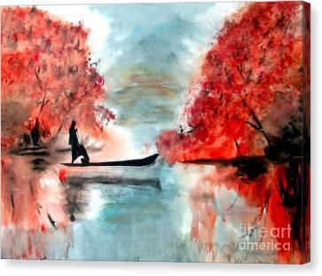 One Autumn Morning Canvas Print