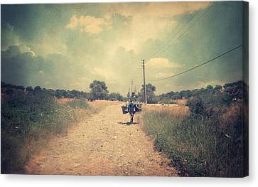 One Day Out Of The Past Canvas Print