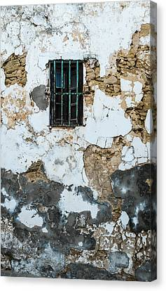 One Eyed Wall Canvas Print by Piet Scholten