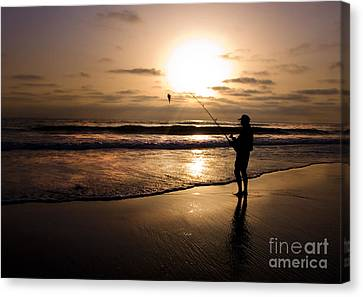 One Fish Only Canvas Print