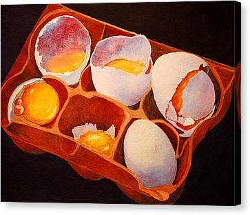 One Good Egg Canvas Print by Roger Rockefeller