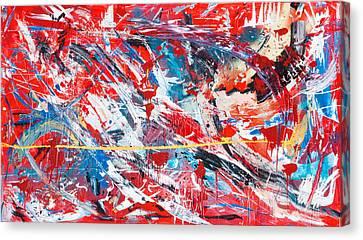 One Hundred Phoenixes Canvas Print