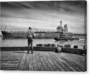 One Last Look Canvas Print by Bob Orsillo