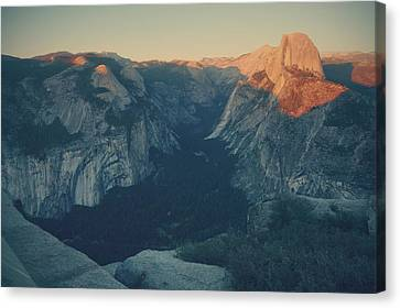 Yosemite National Park Canvas Print - One Last Show by Laurie Search