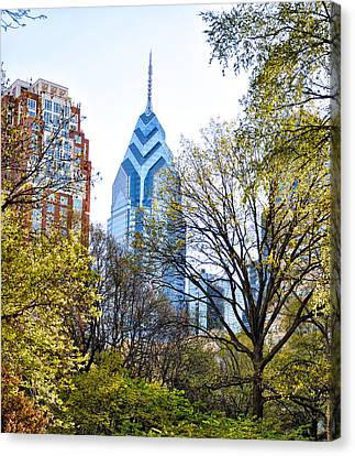 One Liberty Place Canvas Print by Bill Cannon