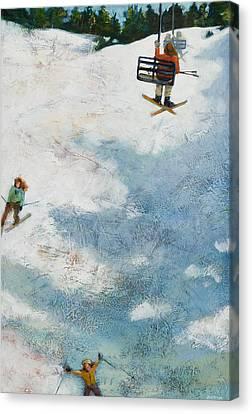 One More Run Canvas Print by Jen Norton