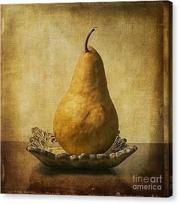 One Pear Meditation Canvas Print