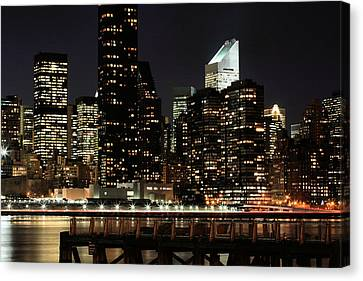 One Slice Of The Apple Canvas Print by JC Findley
