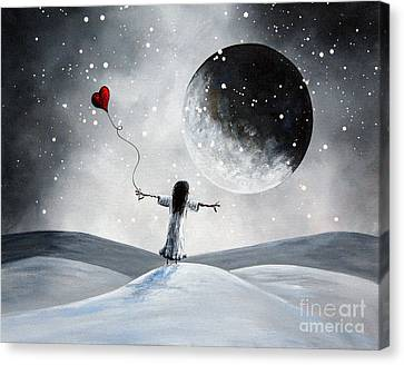 One Small Dream By Shawna Erback Canvas Print by Shawna Erback
