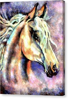One Spirit Canvas Print by Janine Riley