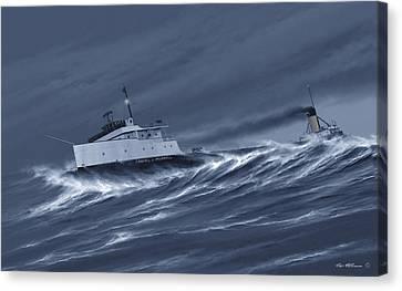 One Survivor Canvas Print by Captain Bud Robinson