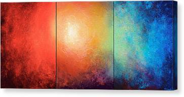 One Verse Canvas Print by Jaison Cianelli