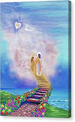 One Way To God Canvas Print by Susanna  Katherine