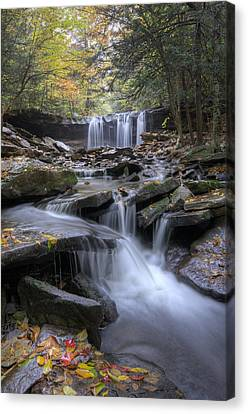 Oneida Falls Canvas Print by Michael Donahue