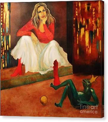 Only A Fairy Tale  Canvas Print by Dagmar Helbig