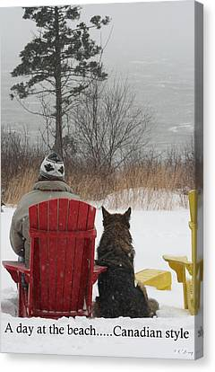 Only In Canada Canvas Print
