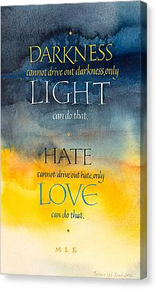 Only Love Canvas Print by Barbara Yale-Read