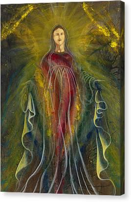 Only One Illuminates My Soul IIi Canvas Print by Giorgio Tuscani