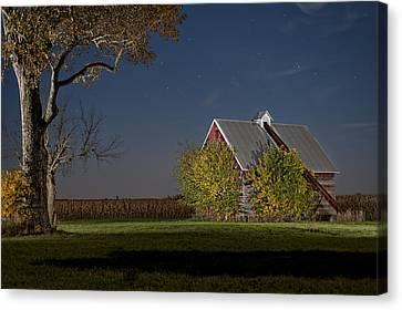Onset Of Fall Canvas Print by Tom Phelan