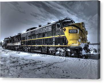 Ontario Southland Railways Canvas Print