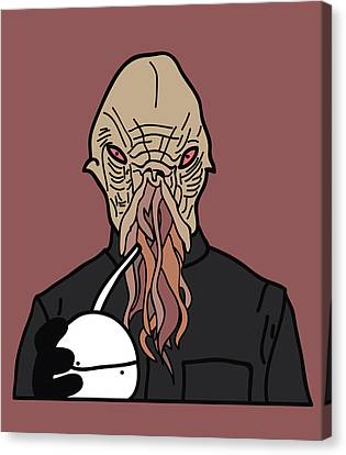 oOd Canvas Print by Jera Sky