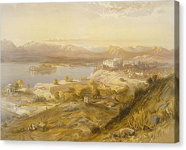 Oodypure, From India Ancient Canvas Print by William 'Crimea' Simpson